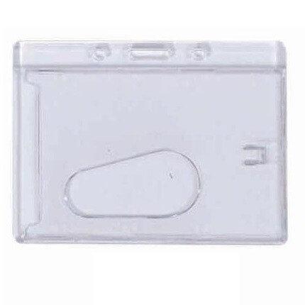 Hard Plastic ID Holder