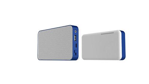 @memorii Boomsond 3W Bluetooth Speaker With 4400mah Power B