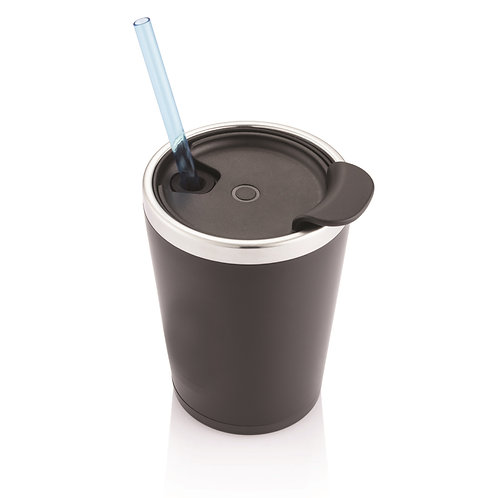 HENGELO - 280ml MiniLogo Light Up Tumbler - Black