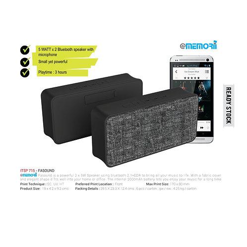 FASOUND - Fabric Bt Speaker