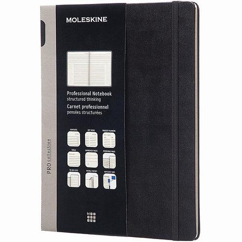 Moleskine Professional Notebooks - L Size (Black)