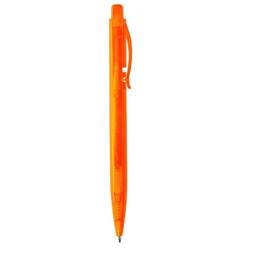 Stylish Ball Pen With Cuadrangular Body In Frosted Finishin