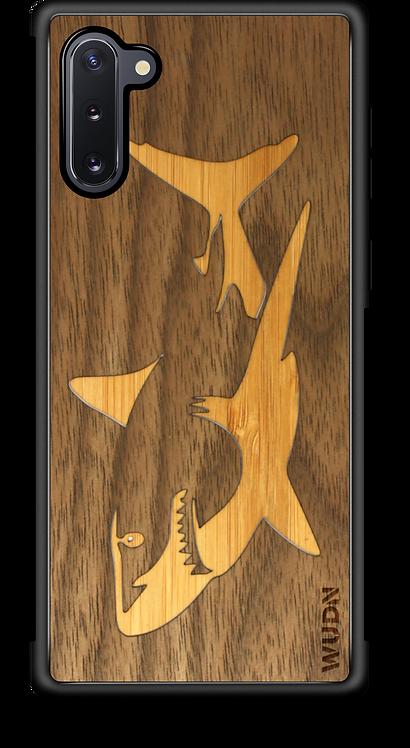 Slim Wooden Phone Case   Great White Shark