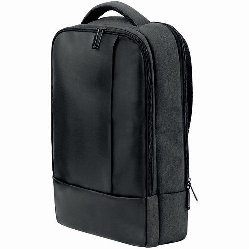 Santhome EXVAC 15.4InchLaptop Backpack (Grey/Black)
