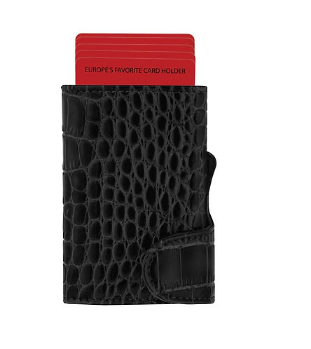 Santhome-CIKAW Security For You Crocodile Leather Cardholde