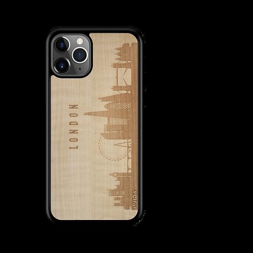 CityScape Wooden Phone Case | London England