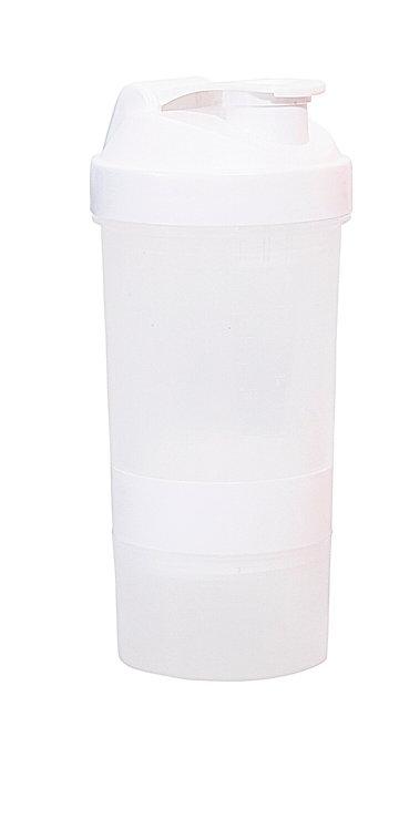 Hans Larsen Swel 400ml Protein Shaker - White