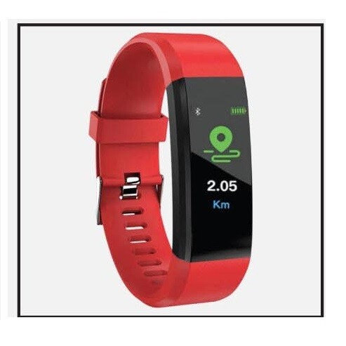 PUCON - Smart Activity Tracker - Red