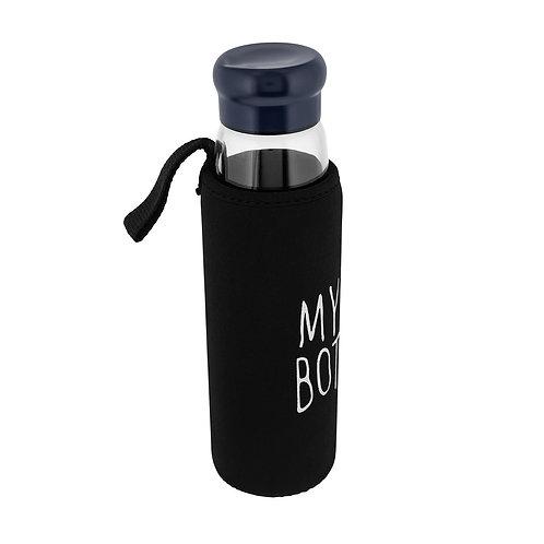 BRASOV - Borosilicate Glass Bottle - Transparent