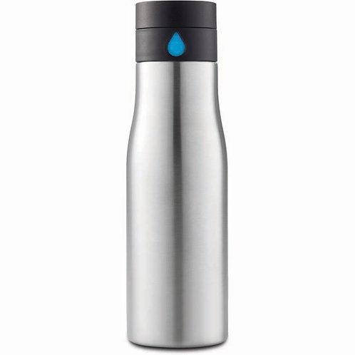 AQUA - Hydration Tracking Bottle Silver