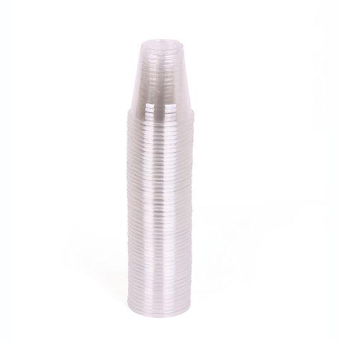 Hotpack-plastic clear cup 6-oz  - 50pcs