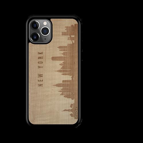 CityScape Wooden Phone Case | New York NY