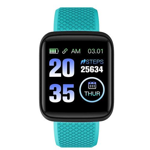 WANAKA - Smart Fitness Tracker - Cyan
