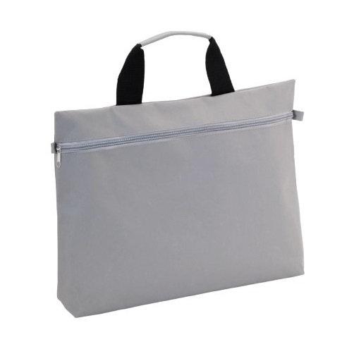 VENTA - 600D Polyester Document Bag - Grey