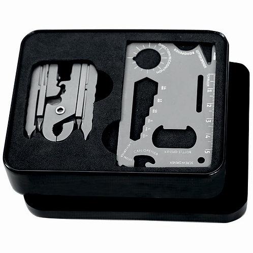 Giftology MINSOK Micro Tool Set & 18 In 1 Wallet Tool