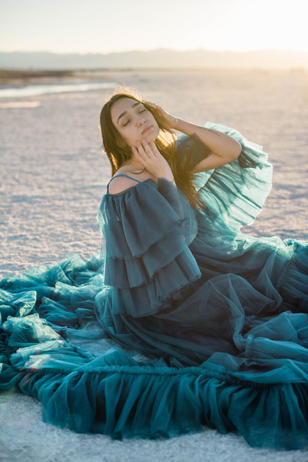 Dreamy Salt Flats Shoot | NV Portrait Photographer