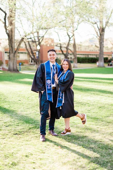 Hillary + Jacob | University of Nevada, Reno Grad Photos