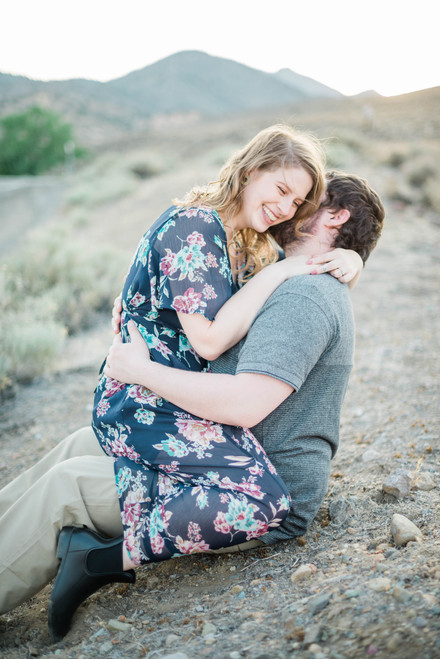 Clare + Todd Engagement Session | Northern Nevada Wedding Photographer
