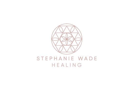 Healing circle brighter pink white backg