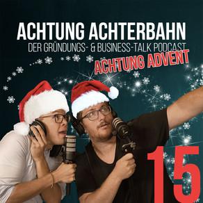"Achtung Advent #15 - Produkttest: Alkoholfreier Wein ""Kolonne Null"""