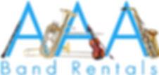AAA Band Rentals Logo