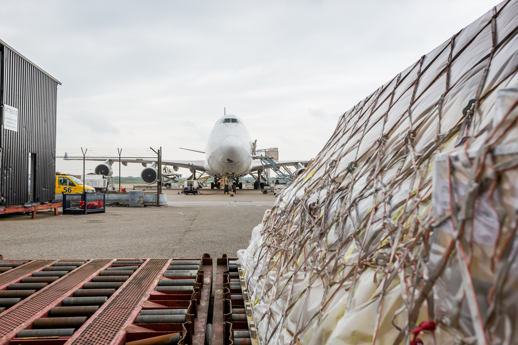 Cargo-shoot Schiphol Group