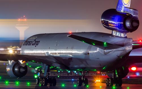 Lufthansa Cargo MD-11F at Frankfurt