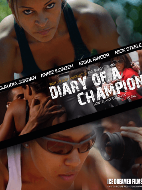 """""""DIARY OF A CHAMPION"""" [24x36 MOVIE POSTER]"""