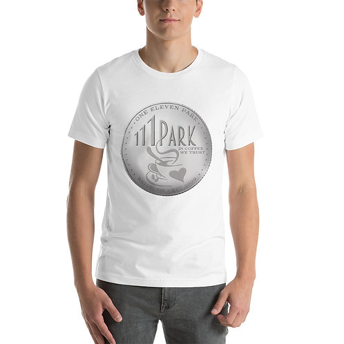 111 Park Unisex Silver Dollar T-Shirt