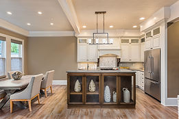 Beautiful Kitchen and Dining Room in New