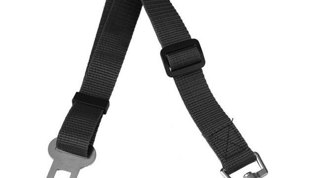 Adjustable Pet Dog Cat Car Seat Belt Harness Seatbelt Lead Leash for