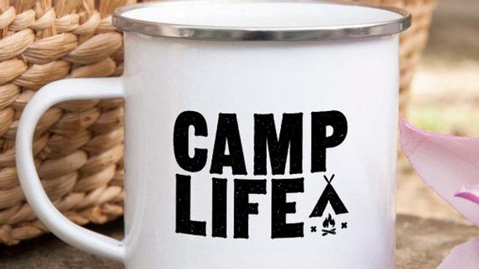 Camp Life Mug