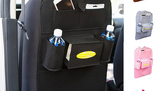 Classic Auto Car Seat Back Hanging Storage Bag
