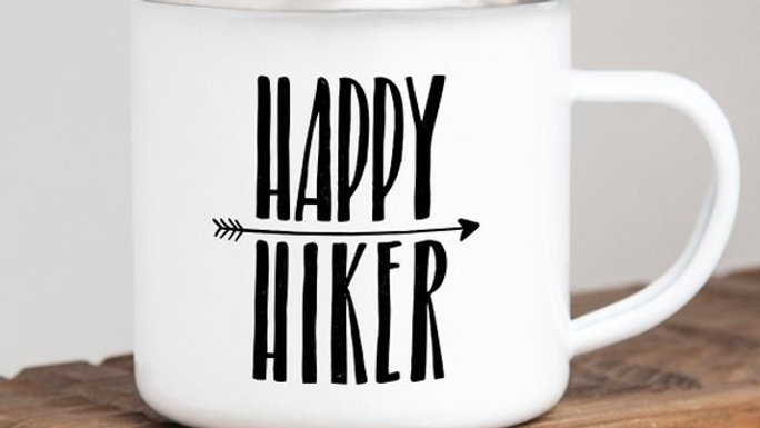 Happy Hiker Mug