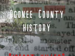 Oconee County Bigfoot Encounter in South Carolina