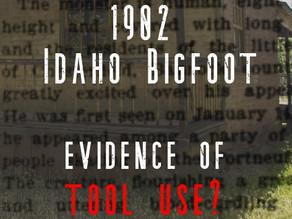 1902 Bigfoot in Idaho. Newspaper account of sasquatch encounter