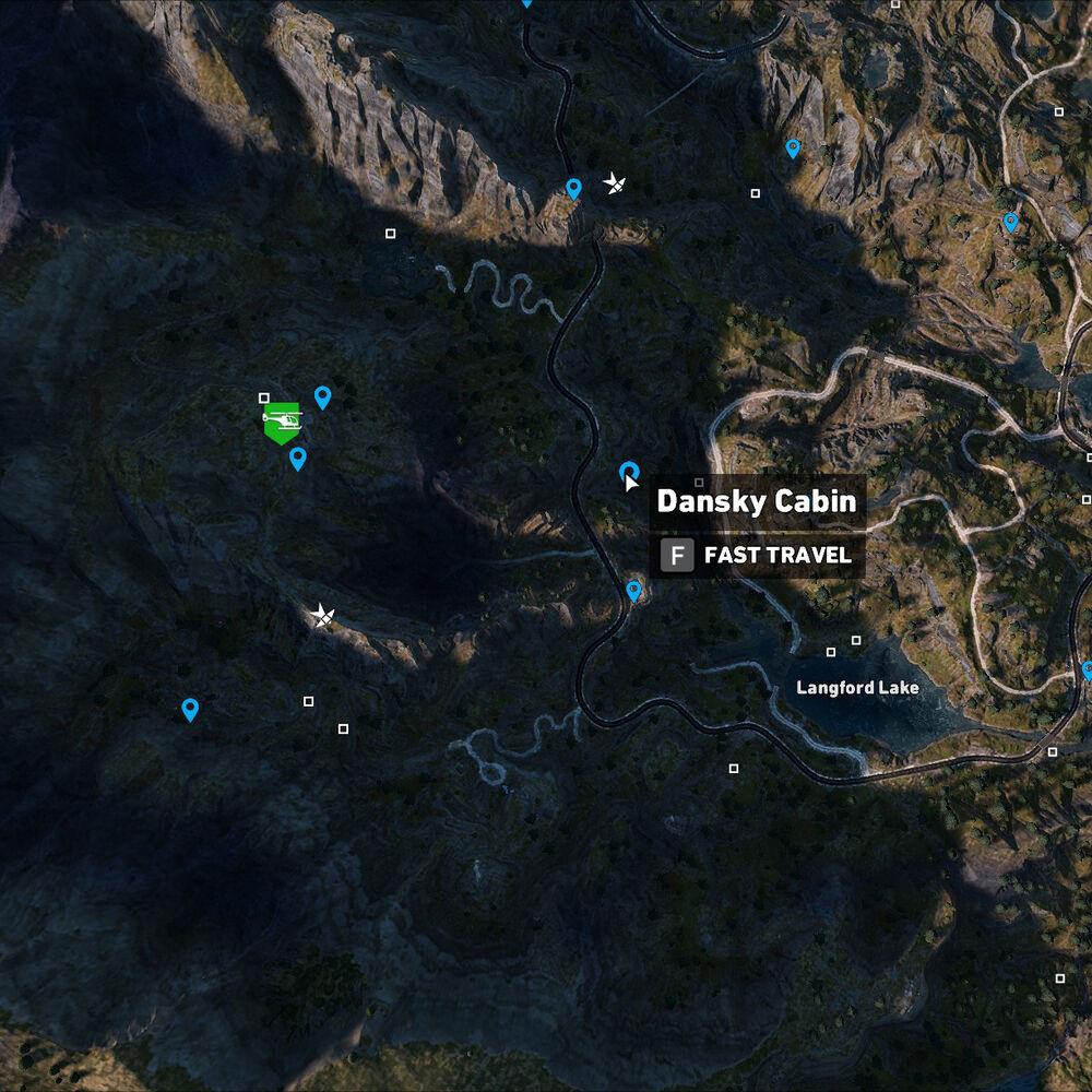 Dansky Cabin Location Far Cry 5