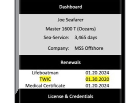 MSS Offers NEW Mariner Credential Consulting Client Portal