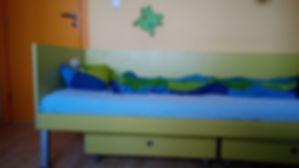 общ вид на леглото