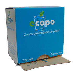 ECOPO - Copo descartável em envelope