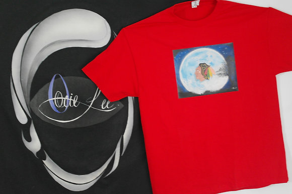 # 043 Red Adult size T Shirts
