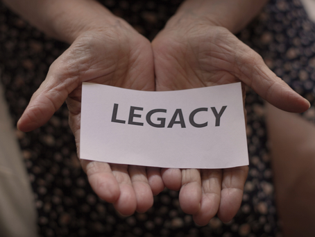 What will be your legacy in this time?