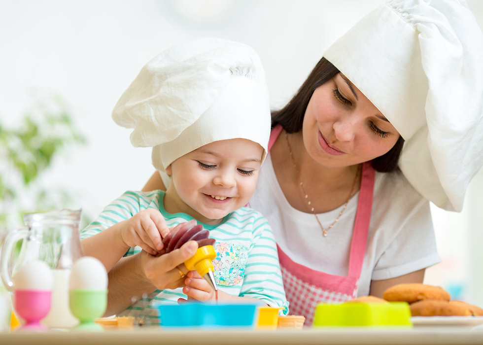 Mom and Toddler Baking Classes Dolce Sen