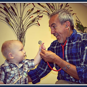 Dr. Mike Lanza & kid