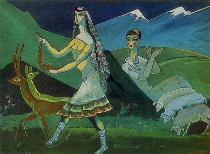 """""""Παστοράλ"""" του Λάντο Γκουντιασβίλι, 1963"""