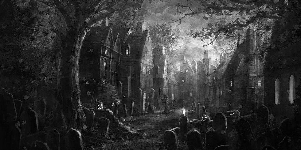 Halloween Vampire Social