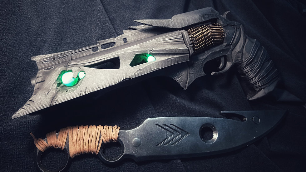 Hunter pack, Thorn Hand Cannon+ Hunters Knife