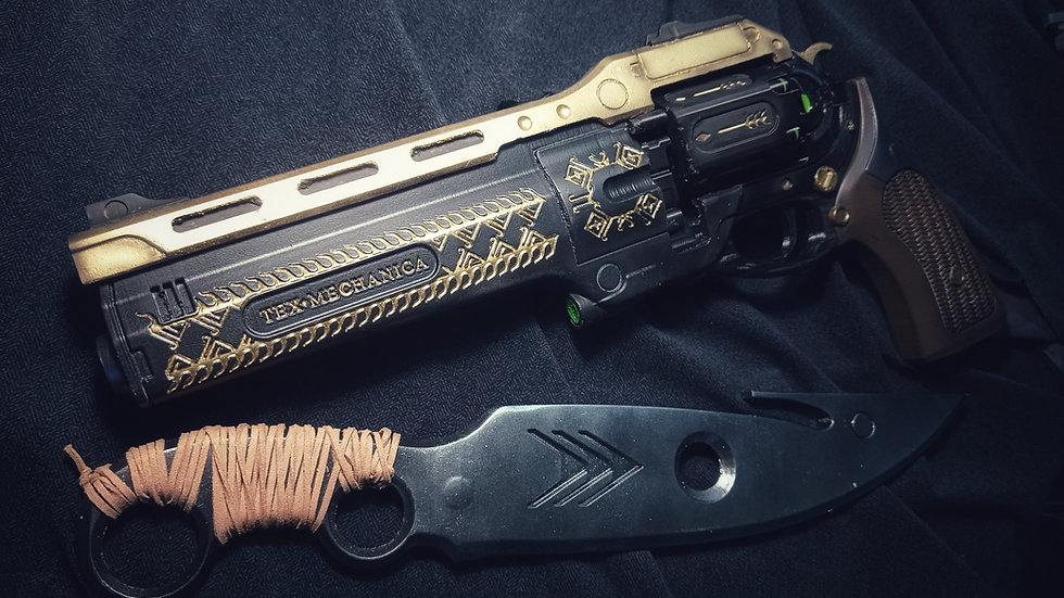 Hunter pack, Last Word Hand Cannon+ Hunters Knife