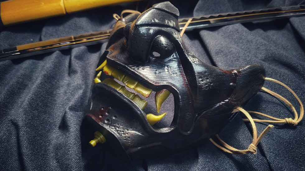 """Ghost of Tsushima """"Ghost Mask"""""""