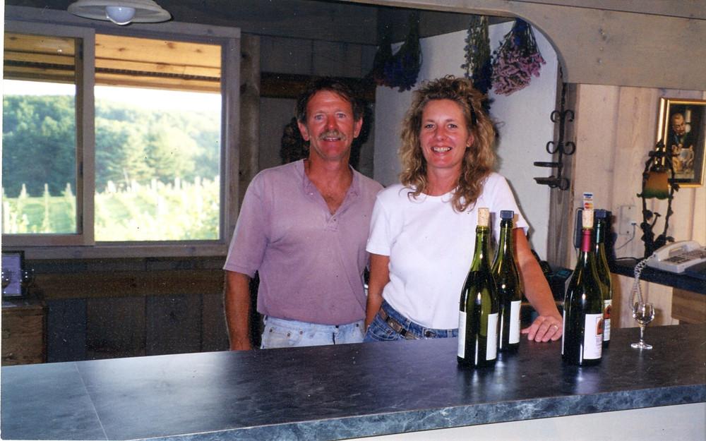 John & Jo Crampton - Opening Day Willow Vineyards